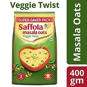 Saffola Masala Oats Veggie Twist, 400g