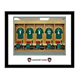 Personalised Leicester Tigers Dressing Room Phrint Framed Personalised The Personalised Leicester