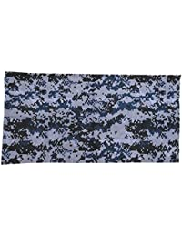 Max Fuchs Men's Scarf Digital Skyblue One Size Fits All