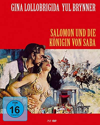 Salomon und die Königin von Saba - Mediabook Cover B (+ DVD) [Blu-ray]