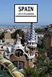 Spain 2019 Planner: Spanish Theme Weekly Planner and Journal - Schedule Organizer - 6'x9' 100 Pages Journal (Spain 2019 Planner Series - Volume 6)