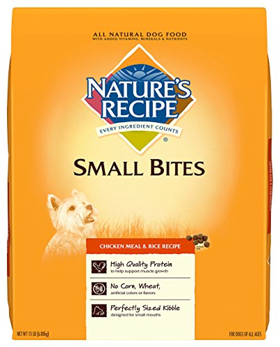 natures-recipe-small-bites-chicken-meal-rice-recipe-dry-dog-food-15-pound-by-natures-recipe