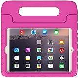 iPad Mini 1 2 3 Funda para Niños – Soweiek Durable Anti-golpes Protector Soporte Caso Cover Case con Asas para Apple iPad Mini 1/2/3 7.9 pulgadas Tablet, Rosa