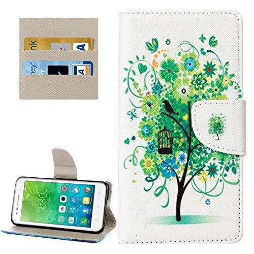 Proteja su teléfono, Für Lenovo Vibe C2 / C2 Power Kleine Bär Muster Horizontale Flip Leder Tasche mit Halter & Card Slots & Wallet ( SKU : Mlc8503h ) (Power Bären Htc One)