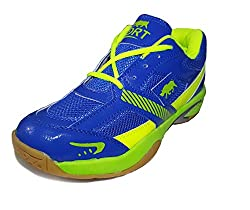 PORT Womens Sports STAR Badminton Shoes(Size 5 UK/IND)