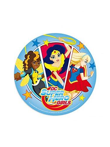 Generique - Tortendeko DC Super Hero Girls 20 cm