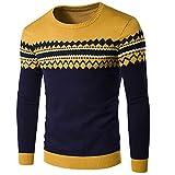 Langer beiläufiger Pullover der Winter-Männer warmer strickender Pullover Kinlin Herren