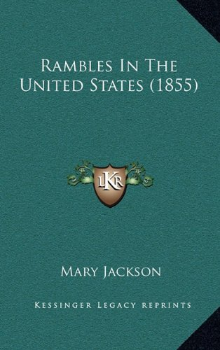 Rambles in the United States (1855)