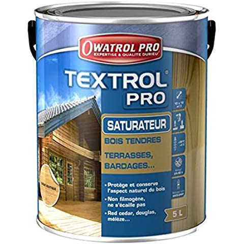 saturateur madera suave Textrol Pro Owatrol–5litros)–roble rústico