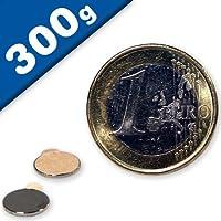 Nickel NdFeB hält 17 kg Scheibenmagnet // Rundmagnet Ø 45x 5mm – Neodym N50
