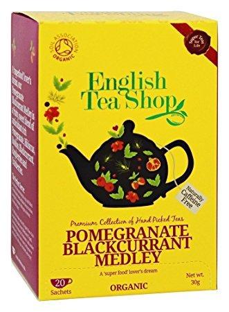 English Tea Shop - Pomegranate Blackcurrant Medley - 30g