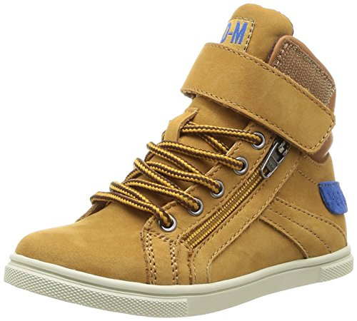PLDM by Palladium Veleda Wp, Baskets mode mixte enfant Jaune (259 Amber Gold)