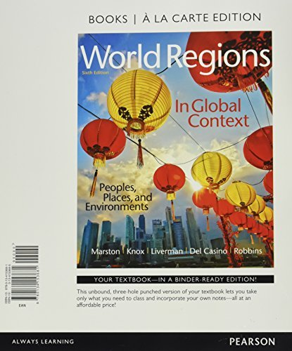 World Regions in Global Context: Peoples, Places, and Environments, Books a la Carte Plus MasteringGeography with eText -- Access Card Package (6th Edition) by Sallie A. Marston (2016-03-18)