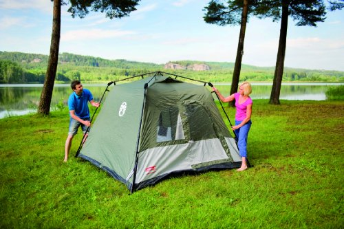 Coleman Tent – Green/White
