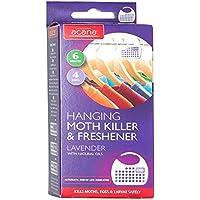 Acana 2675-1 Hanging Moth Killer and Lavender Freshener - White (Pack of 4)