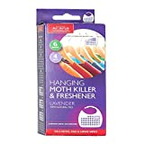 Acana Hanging Moth Killer & Freshener Pack of 4