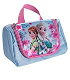 Disney Die Eiskönigin Elsa & Anna Mädchen Kosmetik- Kulturtasche - hellblau
