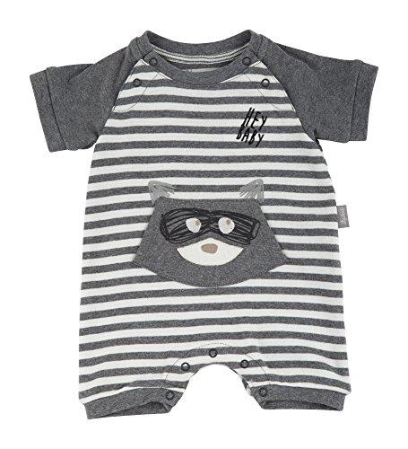 Sigikid Unisex Baby Overall, New Born Strampler, Grau (Grey Melange Abk 83 85), 62