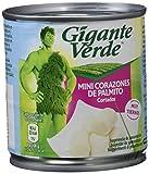 Gigante Verde - Bipack De Latas De Mini Corazones De Palmito Cortados - 200 gr