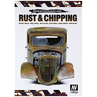 Vallejo VJ75011 Rust & Chipping Tool