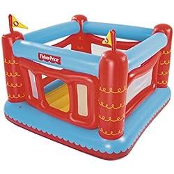 Bestway Fisher Price 93504 - Castillo Hinchable Bouncetastic Rojo