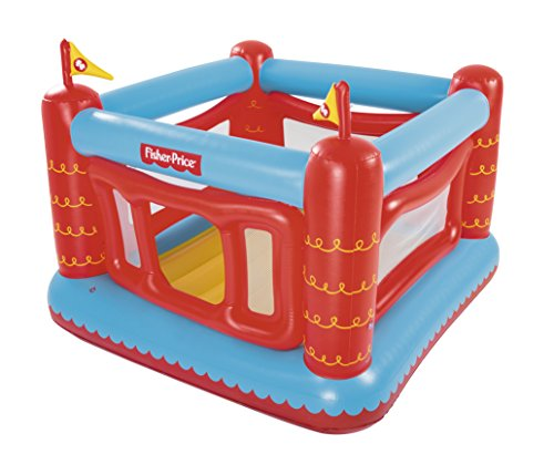 Bestway Fisher Price 93504 - Castillo Hinchable Bouncetastic Rojo