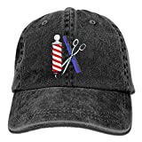 Fashion Home_UK Barber TL Adult Sport Adjustable Baseball Cap Cowboy Hat