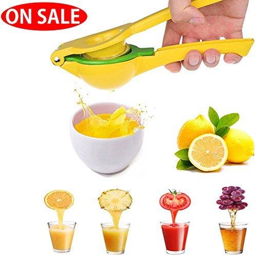 Manual amarillo limón exprimidor prensa