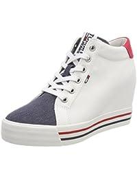 Hilfiger Denim Damen Tommy Jeans Sneaker Wedge
