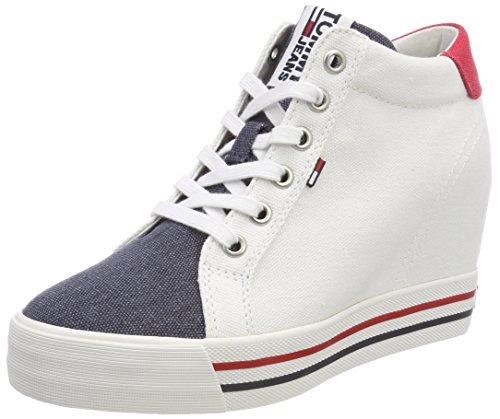 Tommy Jeans Sneaker Wedge, Sneakers Basses Femme