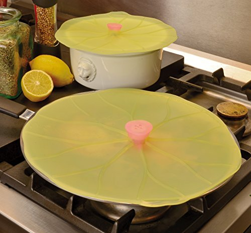 Charles Viancin Charles VIANCIN The Lilypad Lid Medium Small, Medium & Large Silicone Suction Lid & Food Cover