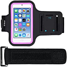 i2 Gear Reflective Armband Case for iPod touch 6th Generation - Black Rose