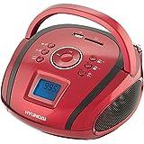 Hyundai TR 1088 SU3RB Radio portable Rouge