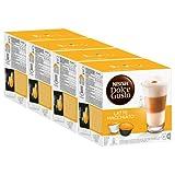 Nescafé Dolce Gusto Latte Macchiato, Kaffee, Kaffeekapsel, 4er Pack, 4 x 16 Kapseln (32 Portionen)