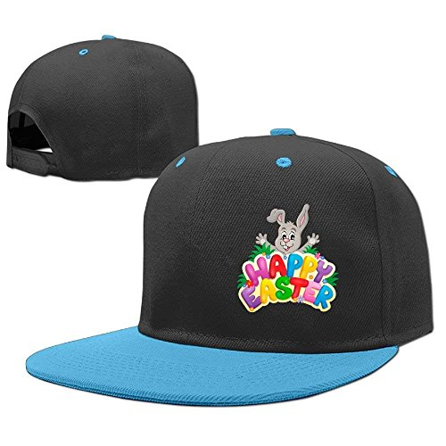 Trucker Girl Kostüm - Happy Easter Bunny Youth Hip Hop Hat Boy and Girls Baseball Trucker Caps Fashion6700