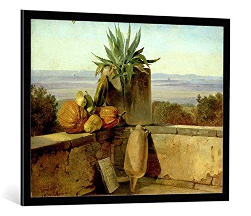 kunst für alle Bild mit Bilder-Rahmen: Friedrich Nerly Roman Balcony 1834