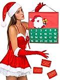Erotischer Weihnachtskalender für Paare Adventskalender bunt 56x98cm Einheitsgröße