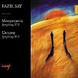 Sinfonie 2, Op.38 Mesopotamia & Sinfonie 3,Op. 43 Universe