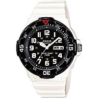 CASIO MRW-200HC-7 - Reloj de pulsera, para hombre, color negro y blanco