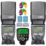 Yongnuo YN660 Blitzgerät Blitz Speedlite 2Pcs + YN560TXII N Transceiver Receiver Funkauslöser für Nikon Digital SLR Kemera D750 D610 D600 D7200 D7100 D7000 D5500 D5300 D5200 D5100 D800 D750 D810