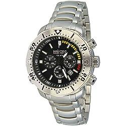 Nautec No Limit Men's Watch Ultimate Quartz Chronograph UO2 QZ 2 Ocean XL/RBSTSTBK