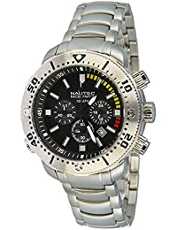 Nautec No Limit Herren-Armbanduhr XL Ultimate Ocean 2 Chronograph Quarz UO2 QZ/RBSTSTBK