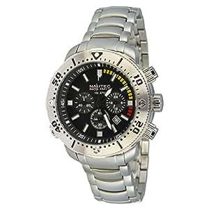 Nautec No Limit Herren-Armbanduhr XL Ultimate Ocean 2 Chronograph Quarz UO2 QZ/RBSTSTBK