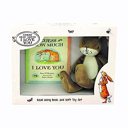 GUESS HOW MUCH I LOVE YOU BOOK & SOFT TOY SET** Guess Baby Set
