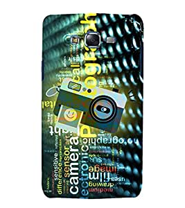 Photography Camera Art 3D Hard Polycarbonate Designer Back Case Cover for Samsung Galaxy J5 (2015) :: Samsung Galaxy J5 J500F (Old Version)