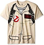 Best Mad Engine Mens Costumes - Mad Engine Men's Venkman Costume T-Shirt, Sand, X-Large Review