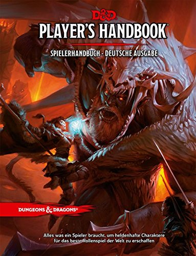 Dungeons & Dragons Player's Handbook - Spielerhandbuch - Game Rpg Master