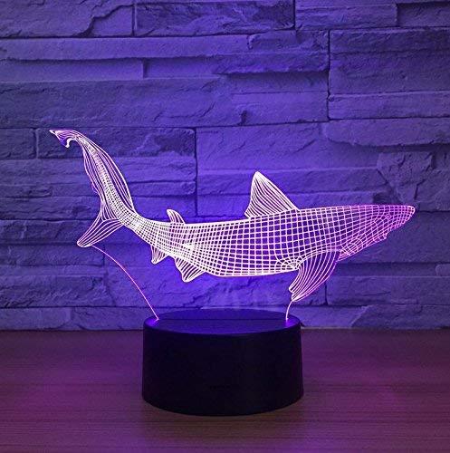 Seba5 Home Märchen Beleuchtung 3D Nachtlicht Stereo mit 5 Farbverlauf LED Tischlampe Kind Weihnachten Geburtstag Geschenke Home Office Dekorationen Lampe
