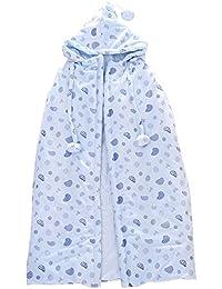 Grueso Super Suave Algodón Recién Nacido Mantas Dormir Cloak