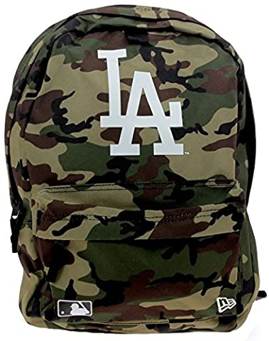 New Era Mlb Stadium Los Angeles Dodgers Woodland Sac à Dos Homme, Woodland Camo, FR : Taille Unique (Taille Fabricant : OSFA)